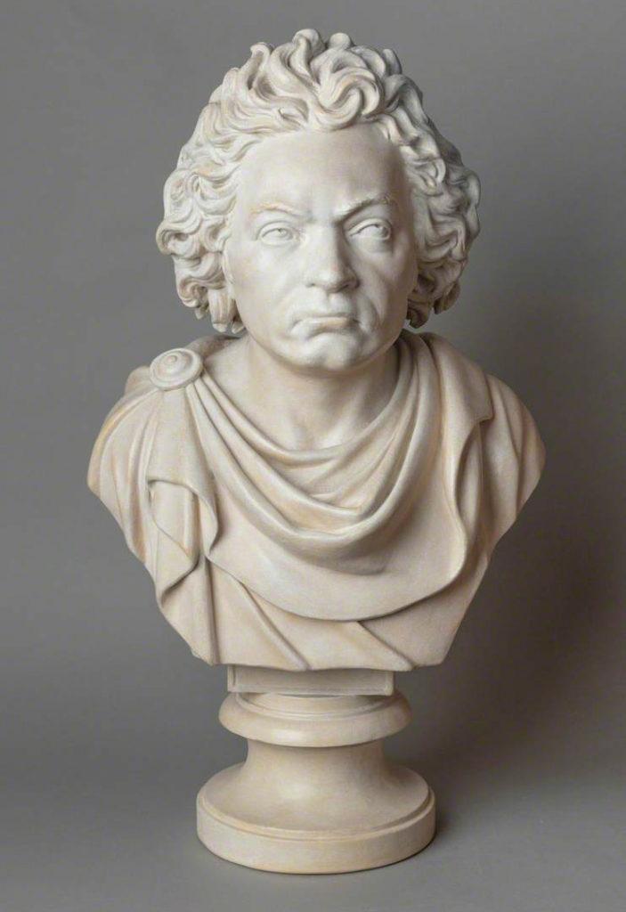 bust of Ludwig van Beethoven (1770-1827)